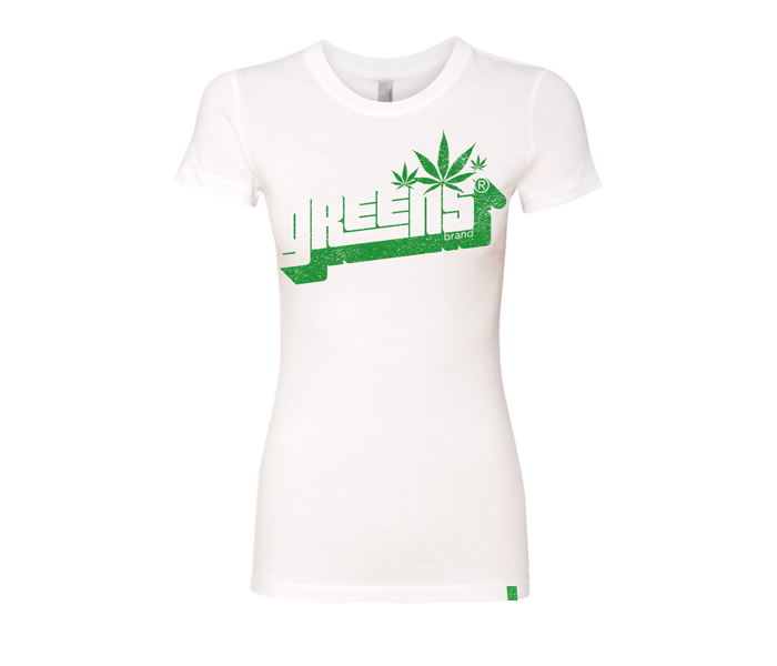 greens®brand-girls-Stampd-white-tee-front